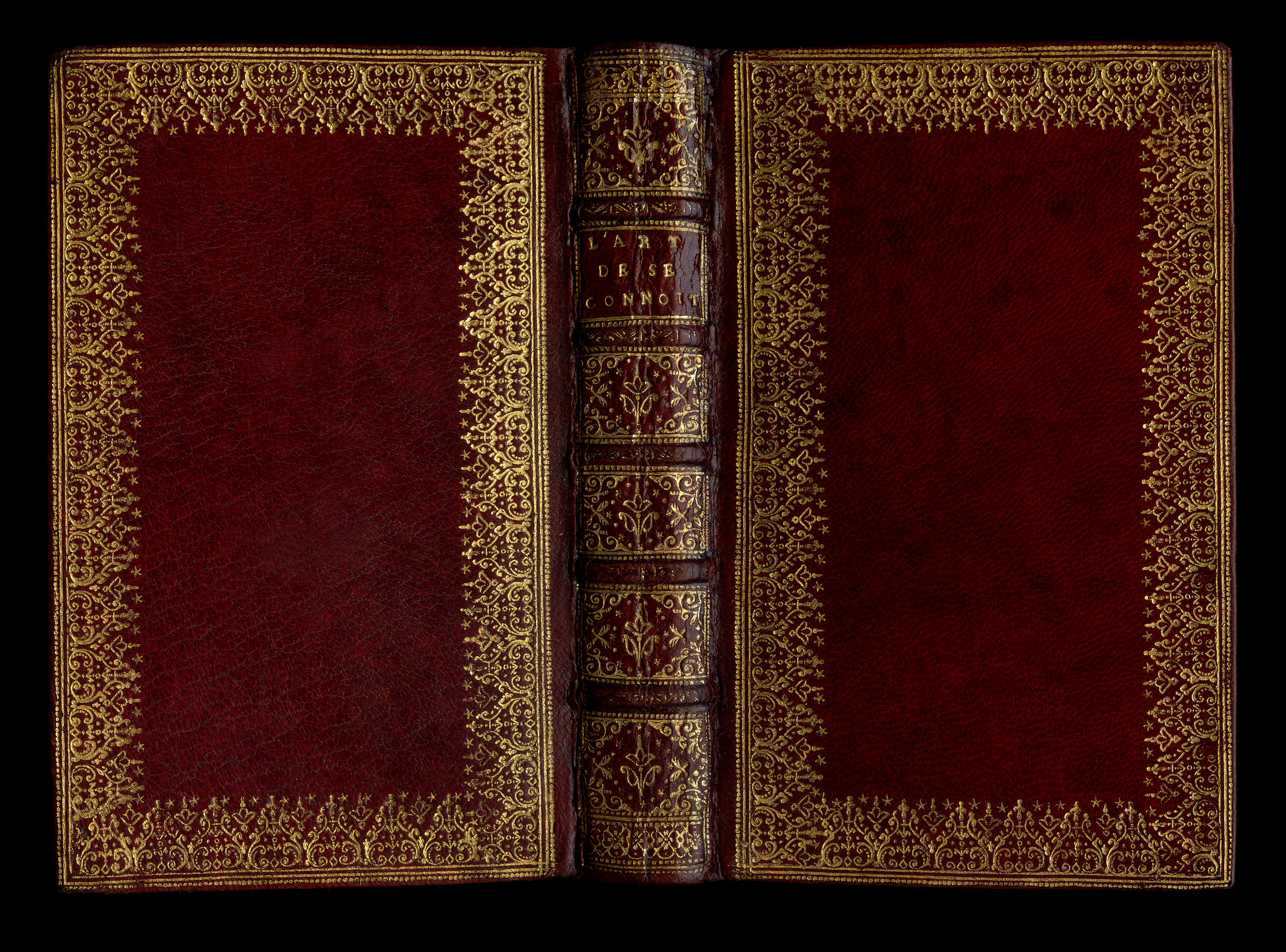 Old Book Cover Texture : Dentelle by luc antoine boyet